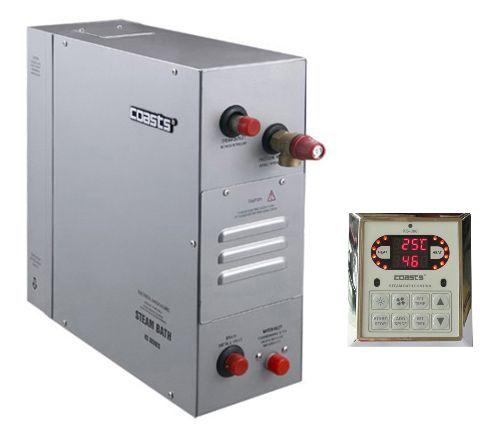 Parní generátor, vyvíječ páry pro saunu KSB-225D s ovládacím panelem KS-300, 380V