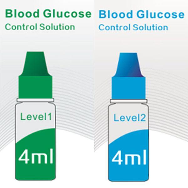 Sinocare kontrolní roztok pro glukometr Safe AQ Angel - 2 x 4 ml